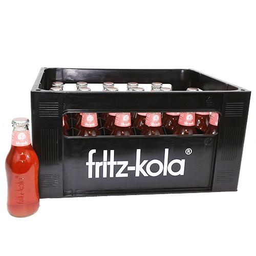 fritz-spritz® bio-rhabarbersaftschorle