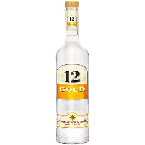 Ouzo 12 Gold 36% Vol.