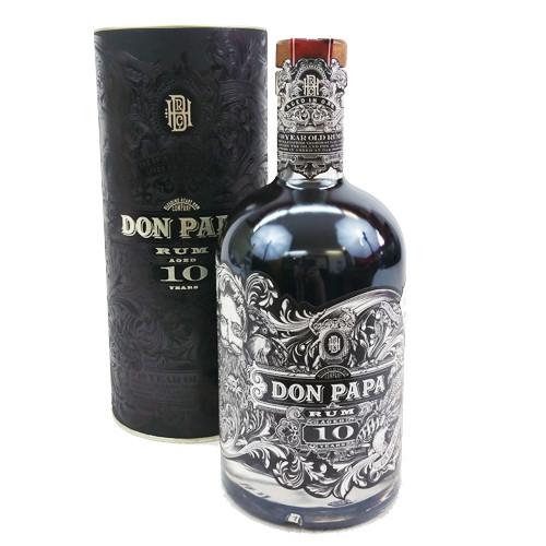 Don Papa Rum 10 Jahre 43% Geschenkpackung