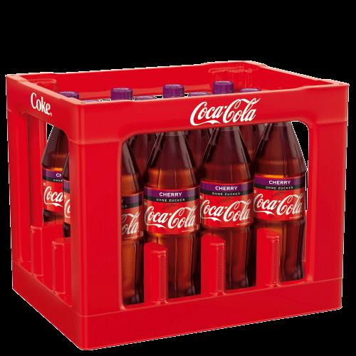 Coca Cola Cherry ohne Zucker