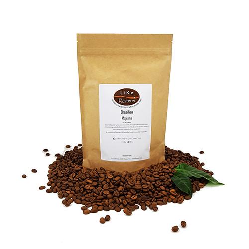 LiKe Kaffee Brasilien Mogiana ganze Bohne