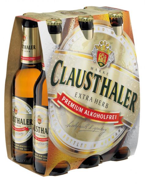 Clausthaler Extra Herb Alkoholfrei